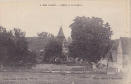 ONVILLERS L'église Et Le Cimetière - Other Municipalities
