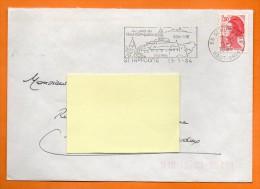 68 ST HIPPOLYTE   SES VINS    11 / 1 / 1984 Lettre Entière N° P 645 - Marcophilie (Lettres)