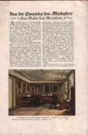 Aus Der Chronika Des Malkasten, Beilage Aus Velhagen Und Klasings- Monatsheften - Zeitungen & Zeitschriften