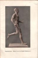 Langstreckenläufer - Druck, Entnommen Aus Illustrierte Rundschau/ 1928 - Zeitungen & Zeitschriften