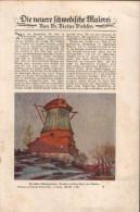 Die Neuere Schwedische Malerei, Entnommen Aus Velhagen Und Klasings- Monatsheften - Zeitungen & Zeitschriften