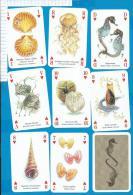 Playcards   Spielkarten    Sealife   Seeleben - 54 Cartes