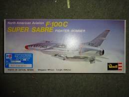 Maquette Avionr    -revell -super Sabre H 127 - Aerei
