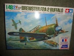 Maquette  Avion Tamiya Brewster F2 A 2 Buffalo 1/48 - Airplanes