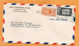 Ecuador Old Cover Mailed To USA - Ecuador