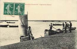 -departements Div- Ref CC917 - Manche - De Blainville A Coutainville - L Arrivee Des Bateaux - Carte Bon Etat - - Blainville Sur Mer