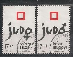 BELGIE BELGIQUE 2703/4 JUDO - Used Stamps