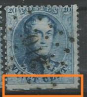 15A  Obl  310 Renaix  Coupé En Bas + Traces Insc. Marginales - 1863-1864 Medallions (13/16)