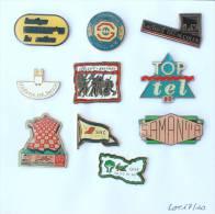 Lot De 10 Pin's - PRIX SACRIFIE !!!! - Lot N° 17 - E477 - Badges