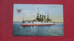 US  Battleship  Ohio              Ref  2076 - Warships
