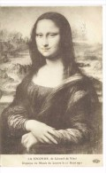 CPA La Joconde Léonard De Vinci - Museos