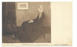 CPA Musée Du Luxembourg  Whistler James  La Mère De L'auteur - Museum