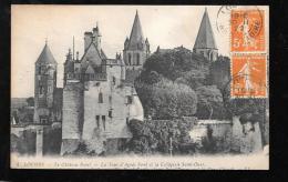 4  -  Loches  - Le Chateau Royal - La Tour D'Agnès Sorel Et La Collégiale Saint Ours   Ham39 - Loches