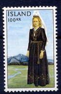 ICELAND 1965 100 Kr. National Costume  MNH (**) - 1944-... Republic