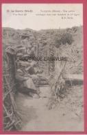 55 - VAUQUOIS - Nos Poilus Acceoupis Dans Une Tranche De 1° Ligne - Francia