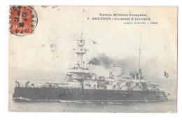 (6655-00) Marine Militaire Française - Brennus - Cuirassé à Tourelles - Krieg
