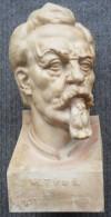 SOKOL Miroslav Tyrs CERAMIC BUST, 1832-1932, STE VYROCI NAROZENI, UPOMINKA NA IX.SLET VSESOKOLSKY V PRAZE , V. ZELLMAN - Otros