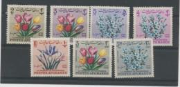 AFGHANISTAN - BOUQUETS DE FLEURS - N° Yvert 746U/746X + PA52H+52J ** - Afghanistan