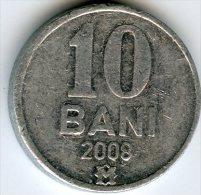 Moldavie Moldova 10 Bani 2008 KM 7 - Moldavie