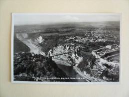 Inghilterra - England - Bristol - Clifton Suspension Bridge From The Air - Viaggiata 1958 - Bristol