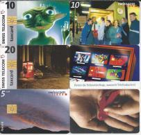 Telefoonkaarten.- 6 Verschillende Telefoonkaarten. 2 Scans - Telefoonkaarten