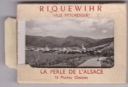 Haut  Rhin :  RIQUEWIHR  ,la Perle D Alsace     : Carnet   Entier 10 Vues - Riquewihr