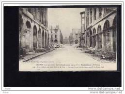 51  REIMS    Dans Ses Annees De Bombardement 1914 1918 - War 1914-18