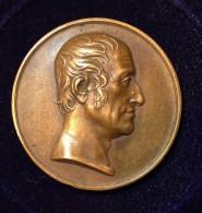 Médaille -  FRANCIS HENRY EGERTON EARL Of BRIDGEWATER Par Donadio F. - Royaux/De Noblesse