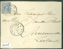 BRIEFOMSLAG Uit 1897 * GELOPEN Van WAGENINGEN Naar ARNEMUIDEN  (10.015) - Periode 1891-1948 (Wilhelmina)