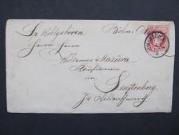 GANZSACHE Böhmisch Aicha - Zamberk Senftenberg   //// D*18230 - 1850-1918 Imperium