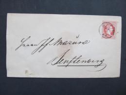 GANZSACHE Wien - Zamberk Senftenberg   //// D*18231 - Briefe U. Dokumente