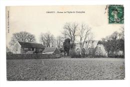 (6671-60) Orrouy - Ruines De L'Eglise De Champlieu - France