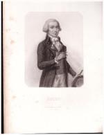 Gravure Sur Acier, Originale (figures De La Révolution) : BUZOT (PPP1610) - Autres Collections