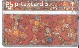 Telefoonkaart.- Zwitserland. Telecom. PTT. Taxcard 5.--. 312L -  CASH  * Used * 2 Scans - Svizzera