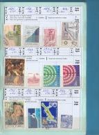 Carnet De YOUGOSLAVIE - Cote= 166 €uros- 15 Scans. - Sammlungen (im Alben)