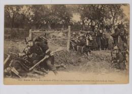 Belgische  Carabiniers Drijven Duitse Patrouille Terug  Bij Ieper 1914 - Guerre 1914-18