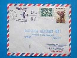 1960 Ivory Coast - First Flight By DC8, Abidjan To Paris (10th Sept.)(Aviation) - Ivory Coast (1960-...)