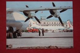 Russia. IRKUTSK  Airport - PLANE - AVION. OLD USSR PC. 1967