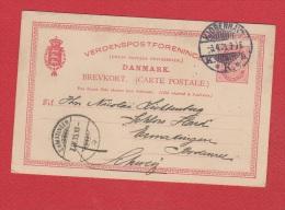 Danemark //  Entier Postal //  De Kjobenhavn //  Pour  Ermatingen //  7/4/95 - Entiers Postaux