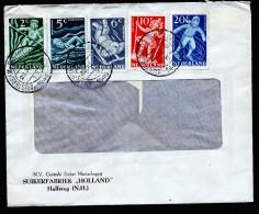A3546) Niederlande Brief Mit Voor Het Kind-Ausgabe Von Amsterdam 29.11.48 - 1891-1948 (Wilhelmine)
