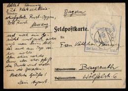 A3547) DR Feldpostkarte Von Flakartillerieschiessplatz Rust-Oggau 1.12.39 - Briefe U. Dokumente