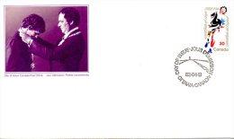 CANADA. N°790 De 1982 Sur Enveloppe 1er Jour. Coureur Unijambiste/Marathon De L´espoir. - Handisport