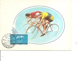 Cyclisme -Championnat Du Monde 1962 ( Carte Commémorative D'Italie De 1963 à Voir) - Ciclismo