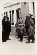 FOTOGRAFIA -GENERALE CAVIGLIA 1935-IN VISITA ALLA COLONIA LANCIA-IN PARTENZA PER IMPERIA -VEDI 2 SCAN - Personalità