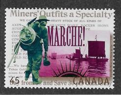 CANADA, 1995 # 1606B, YUKON GOLD RUSH                               MNH - 1952-.... Règne D'Elizabeth II