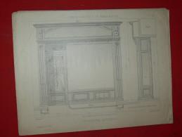 ARCHITECTURE ART DECO 1900 METIER MENUISIER COMMERCE DEVANTURE FACADE  EDITION LIBRAIRIE E THEZARD A DOURDAN - Architecture