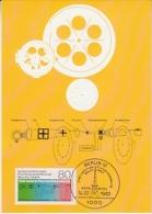 Berlin 1983 Internationale Funkausstellung Berlin / 100J. Fernsehltechnik 1v Maxicard (26121) - [5] Berlijn
