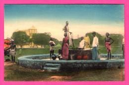 Missions Des Oblats De Marie Immaculée à Ceylan - Puits De La Ville De Jaffna - Animée - THILL - NELS - Colorisée - Sri Lanka (Ceylon)