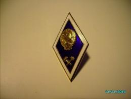 USSR RUSSIA TECHNICAL UNIVERSITY GRADUATION BADGE , 0 - Pin's