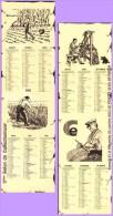 Marque-page °° Salon Du Collectionneur 2001 Seyssins - Calendrier 2002  6x21 - Bookmarks